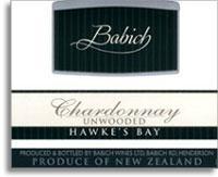 Vv Babich Chardonnay Unwooded Hawkes Bay