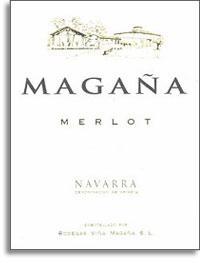 2009 Bodegas Viña Magaña Merlot Navarra