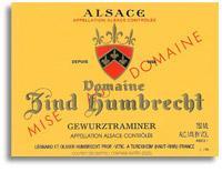 2011 Domaine Zind Humbrecht Gewurztraminer