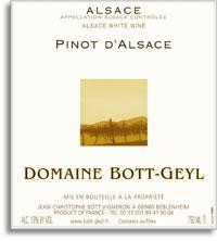 2008 Domaine Bott-Geyl Pinot d'Alsace