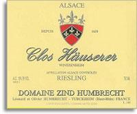 2009 Domaine Zind Humbrecht Riesling Clos Hauserer