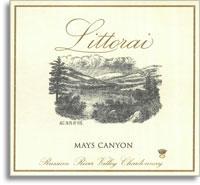 2007 Littorai Chardonnay Mays Canyon Sonoma Coast