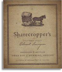 2011 Owen Roe Cabernet Sauvignon Sharecropper's Columbia Valley