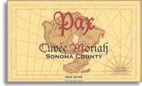 2006 Pax Wine Cellars Red Wine Cuvee Moriah Sonoma County