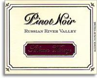 2011 Scherrer Winery Pinot Noir Russian River Valley