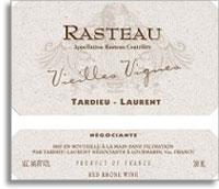 2011 Tardieu-Laurent Cotes du Rhone Villages Rasteau Vieilles Vignes