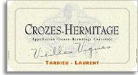 2010 Tardieu-Laurent Crozes-Hermitage Vieilles Vignes
