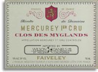 2011 Domaine Faiveley Mercurey Clos Des Myglands
