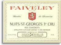 2011 Domaine Faiveley Nuits-Saint-Georges aux Chaignots