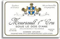2012 Domaine Leflaive Meursault Sous le Dos d'Ane