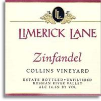 2011 Limerick Lane Zinfandel Collins Vineyard Russian River Valley
