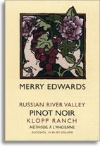 2010 Meredith Vineyard Estate Merry Edwards Pinot Noir Klopp Ranch Russian River Valley