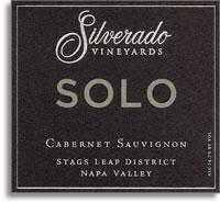 2007 Silverado Vineyards Cabernet Sauvignon Solo Stags Leap District Napa Valley