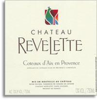 2012 Chateau Revelette Coteaux Daix En Provence Rose