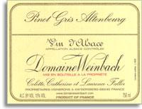 2011 Domaine Weinbach Pinot Gris Altenbourg