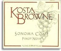 2011 Kosta Browne Winery Pinot Noir Sonoma Coast