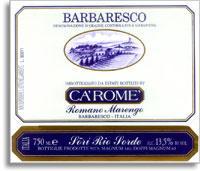 2010 Ca' Rome Barbaresco Sori Rio Sordo