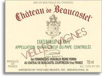 2012 Chateau de Beaucastel Chateauneuf-du-Pape Blanc Vieilles Vignes