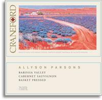 2005 Craneford Wines Cabernet Sauvignon Allyson Parsons Barossa Valley