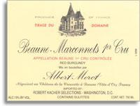 2011 Domaine Albert Morot Beaune Marconnets