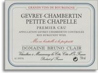 2012 Domaine Bruno Clair Gevrey-Chambertin Petite Chapelle