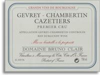 2010 Domaine Bruno Clair Gevrey-Chambertin Cazetiers