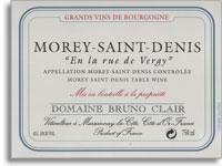 2012 Domaine Bruno Clair Morey-Saint-Denis en La Rue de Vergy