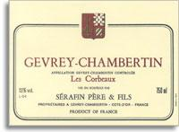 1996 Domaine Christian Serafin Gevrey-Chambertin Les Corbeaux