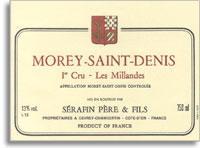2011 Domaine Christian Serafin Morey-Saint-Denis Les Millandes