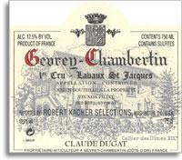 2012 Domaine Claude Dugat Gevrey-Chambertin Lavaux Saint-Jacques