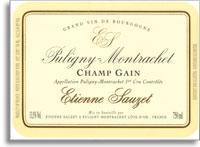 2012 Domaine Sauzet Puligny-Montrachet Champs-Gain