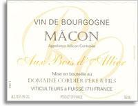 2000 Domaine Cordier Pere et Fils Macon Blanc au Bois d'Allier