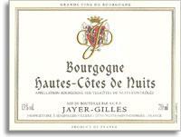 2012 Domaine Jayer Gilles Hautes Cotes De Nuits