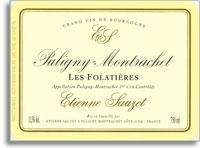 2012 Domaine Sauzet Puligny-Montrachet Folatieres