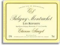 2011 Domaine Sauzet Puligny-Montrachet Referts