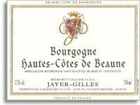 2010 Domaine Jayer Gilles Hautes Cotes De Beaune