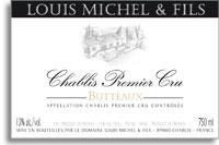 2010 Louis Michel Fils Chablis Butteaux