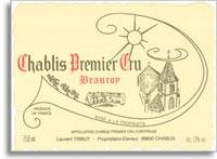 2010 Domaine Laurent Tribut Chablis Beauroy