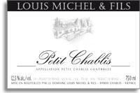 2012 Domaine Louis Michel Petit Chablis