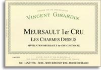 2010 Domaine/Maison Vincent Girardin Meursault Les Charmes-Dessus