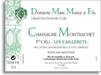 2011 Domaine Marc Morey Chassagne-Montrachet Caillerets
