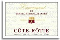 2001 Domaine Michel and Stephane Ogier Cote-Rotie Lancement