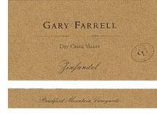 2010 Gary Farrell Wines Zinfandel Bradford Mountain Dry Creek Valley