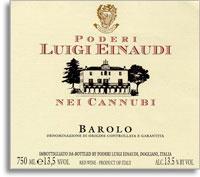 2004 Luigi Einaudi Barolo Nei Cannubi