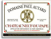 2007 Domaine Paul Autard Chateauneuf-du-Pape