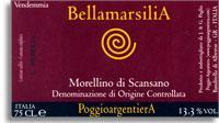 2010 Poggio Argentiera Morellino Di Scansano Bellamarsilia
