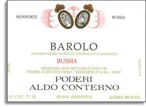 1978 Aldo Conterno Barolo Bussia Soprana
