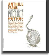 2013 Anthill Farms Pinot Noir Peters Vineyard Sonoma Coast