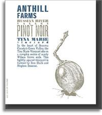 2013 Anthill Farms Pinot Noir Tina Marie Vineyard Russian River Valley