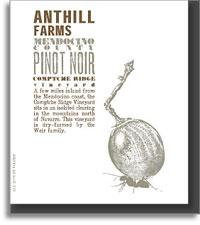 2008 Anthill Farms Pinot Noir Comptche Ridge Vineyard Mendocino County